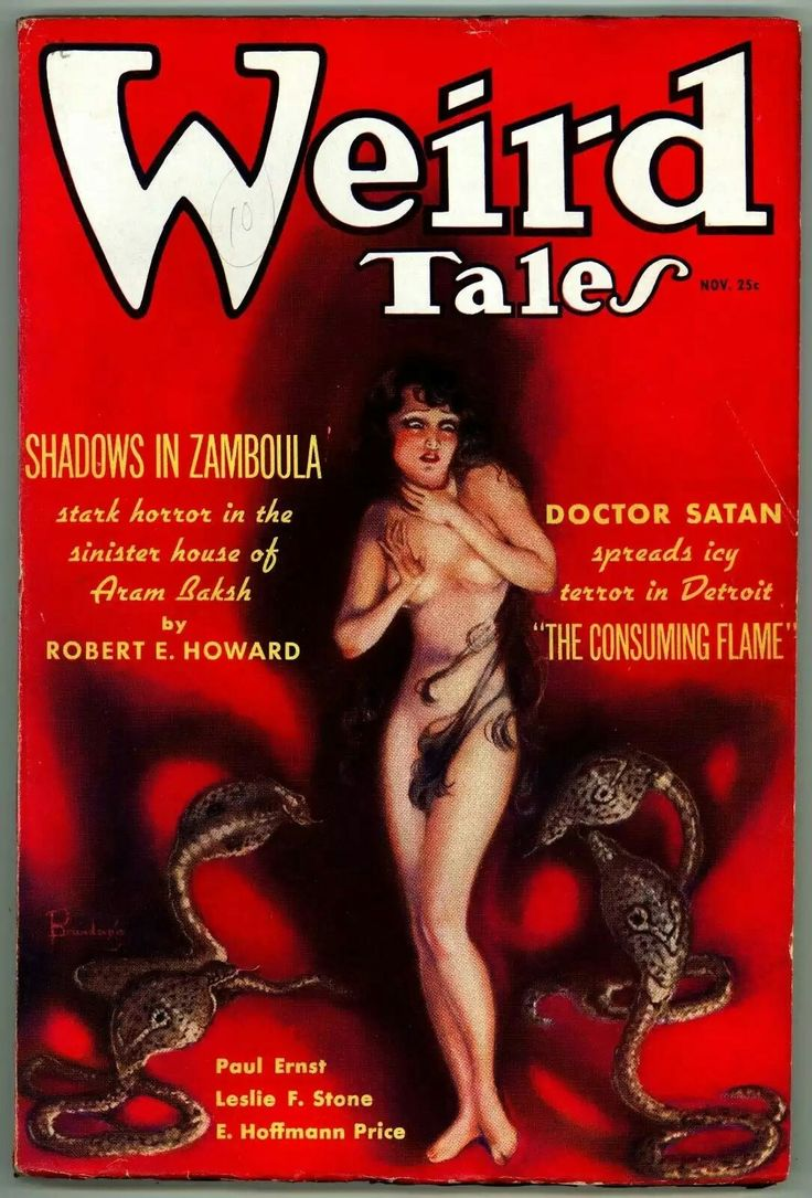 Find This Pin And More On Weird Tales Magazine