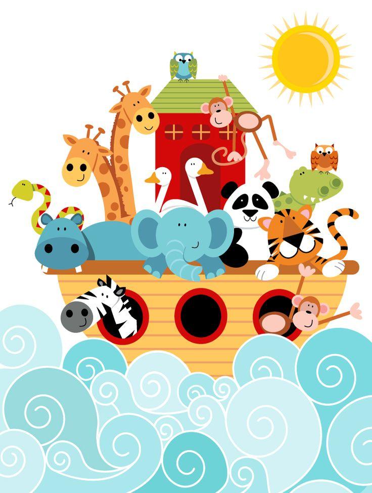 Arca de Noé, ilustraciones, historia,