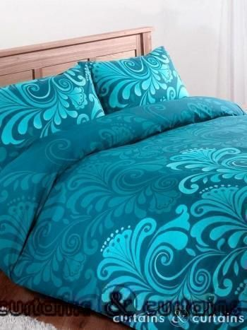 teal and purple duvet - Bing Images