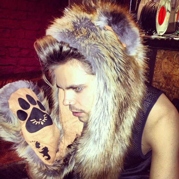 Bear!Vince Kidd