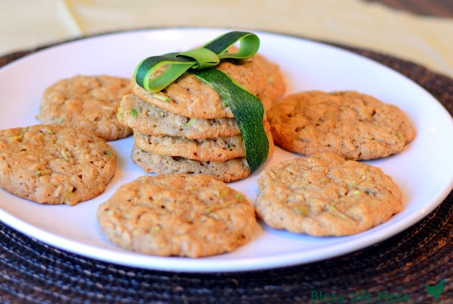 Oatmeal Zucchini Cookies.