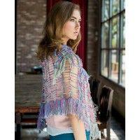 Fission Shawl Pattern; Annette Hynes; Crochetscene 2014 | InterweaveStore.com