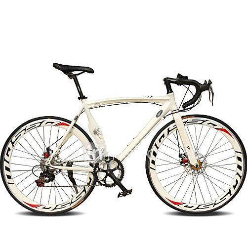 Bicicletas de carretera Ciclismo 14 Velocidad 26 pulgadas/700CC 50mm Hombre De las mujeres Unisex Adulto SHIMANO TX30 Doble Disco de Freno - USD $349.99 ! ¡Producto DESTACADO! ¡Tenemos un producto destacado a increíble precio bajo! Venga a ver este y otros artículos parecidos. ¡Consiga descuentos, recompensas y mucho más siempre que compre con nosotros!