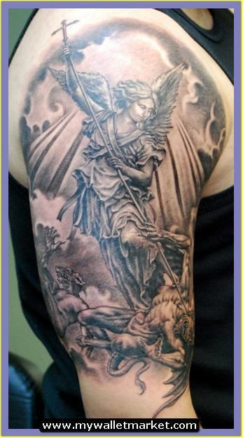 25 b sta saint michael tattoo id erna p pinterest st michael. Black Bedroom Furniture Sets. Home Design Ideas