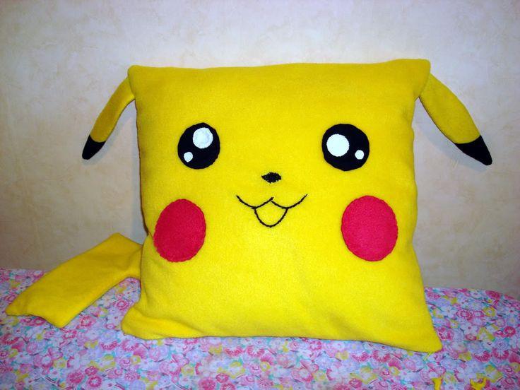 Pikachu Pillow Diy Pokemon Pinterest Pikachu And Pillows