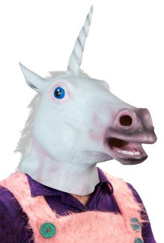 Accoutrements Magical Unicorn Mask:Amazon:Clothing