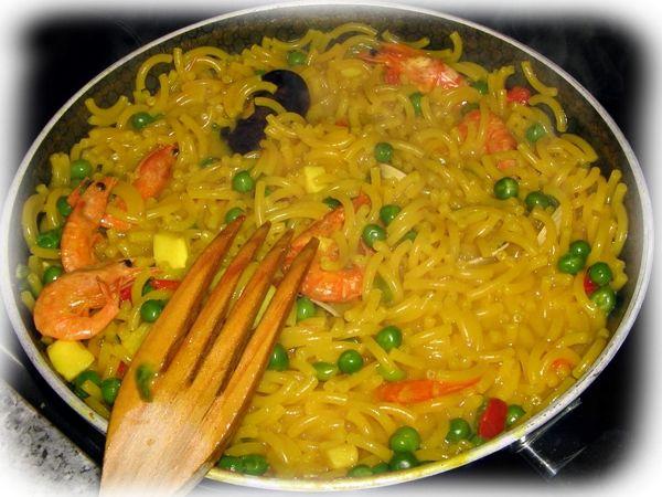 Fideuá - Cocina con los Rolo