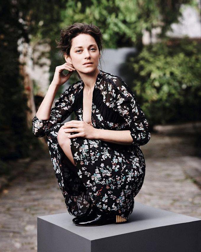 Марион Котийяр в Madame Figaro (Интернет-журнал ETODAY)