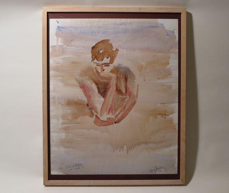 The Waiting Man #thewaitingman #dublin #artist #dublinartist #dublinart #painting #art #artwork #artist #watercolour #paint #2d #2dart #instapaint #max #artoftheday #contemporaryart #modernart #artislife #maxolohan #maxart