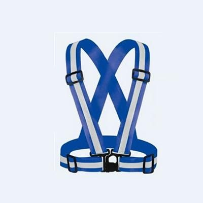 Reflective strap Flexible reflector vest brace motorcycle riding running high light belts High Visibile safety clothing