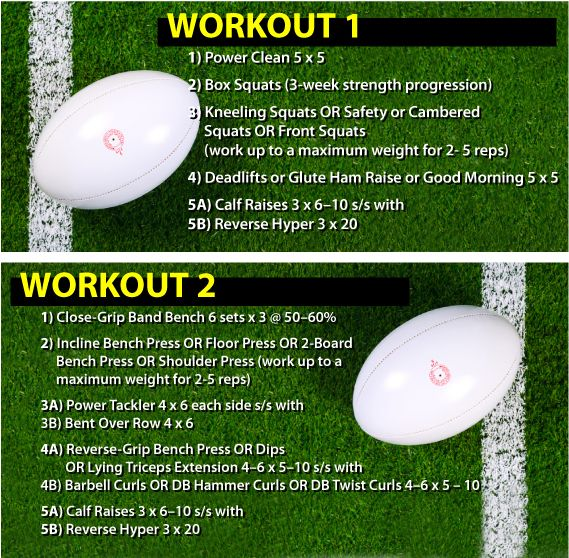 Rugby Workout