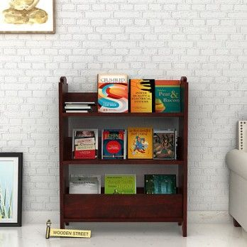 Buy #Trif #Magazine #Rack with #Mahogany #Finish online in India at great discount from Wooden Street. Keep your living area neat by storing your magazines, newspapers and other reading material in a magazine rack. Find a great selection of magazine racks at Wooden Street. Shop for great deals on magazine racks and other furniture products. Visit : https://www.woodenstreet.com/magazine-rack