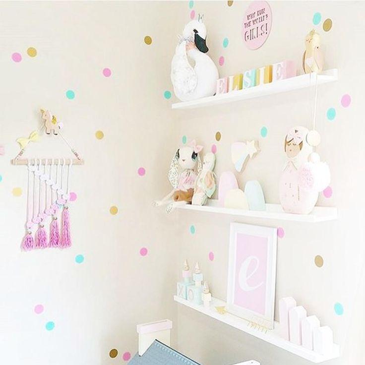 M s de 25 ideas incre bles sobre unicornio rosa en - Habitacion infantil rosa ...