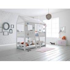 Lifetime Hut bed Silversparkle