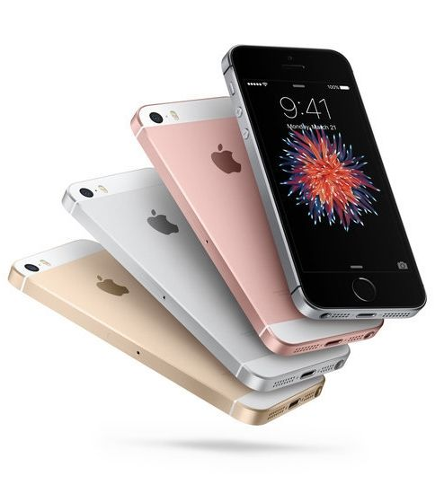 Meet the new iPhone SE — also available in rose gold!