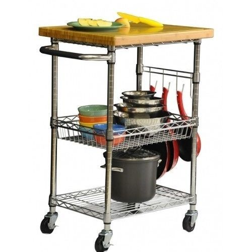 Industrial Rolling Kitchen Cart: Best 25+ Kitchen Utility Cart Ideas On Pinterest