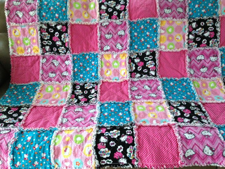 33 best i rag quilt - for sale images on Pinterest | Rag quilt ... : rag quilt with cotton - Adamdwight.com
