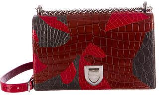 Christian Dior Medium Crocodile Diorama Bag w/ Tags