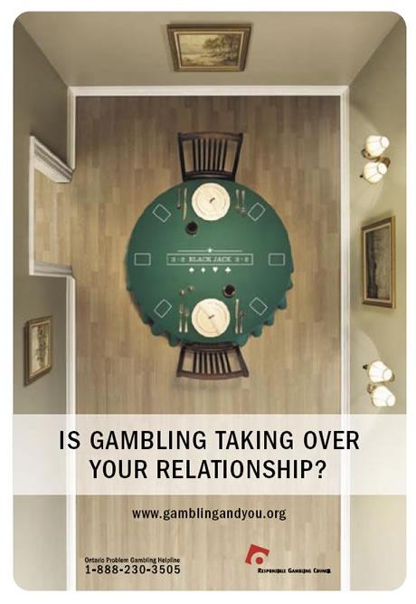 Anti gambling ad from www.gamblingandyou.org