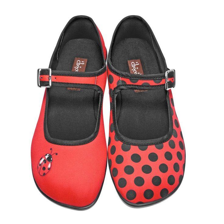 Amazon.com: Hot Chocolate Design Womens Mariquita Mary Jane Flat: Shoes