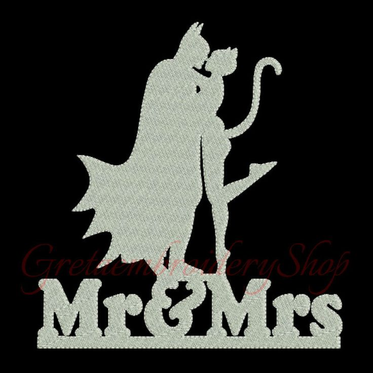 Batman mr&mrs embroidery designs,digital download,Batman embroidery,Batman mr mrs design,Batman fill stitch design,weddings embroidery by GretaembroideryShop on Etsy