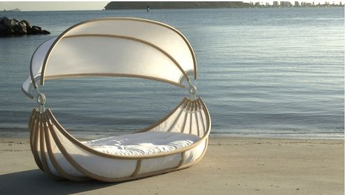 Come sail away with me!  -floating bed with canopy by matsiltala, via Flickr