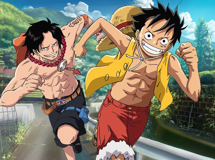 One Piece Monkey D. Luffy, Portgas D. Ace