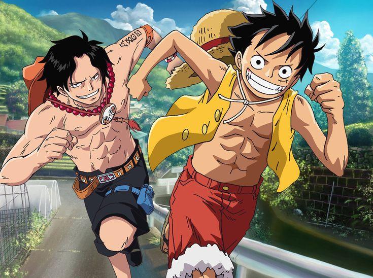 One Piece Monkey D. Luffy, Portgas D. Ace