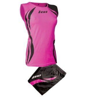Zeus Klima Női Röplabda Mez Szett 85%-ban pamut, és 15%-ban elasztál anyagból készült. Így puha, kényelmes és rugalmas, ujjatlan minőségi röplabda mezről beszélünk.