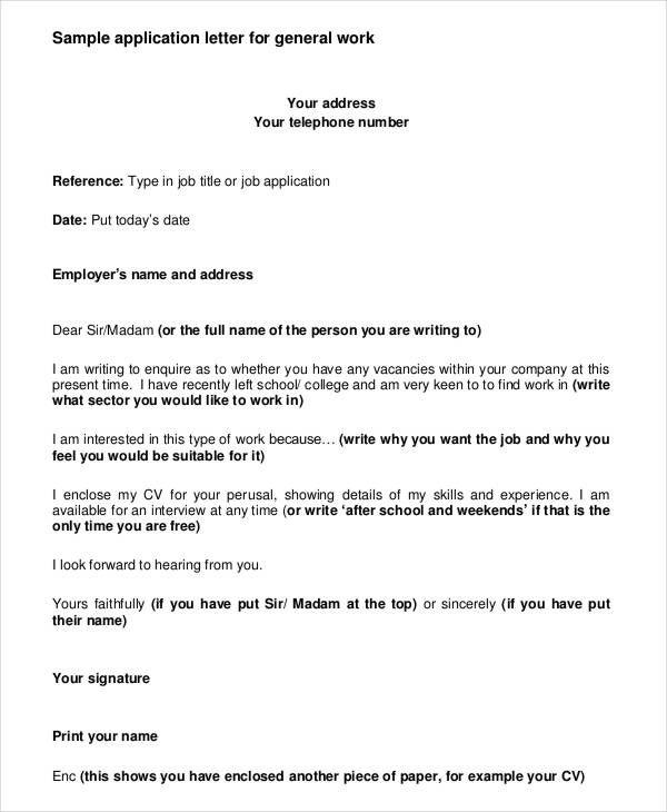 Image Result For Application Letter Format For Job Application