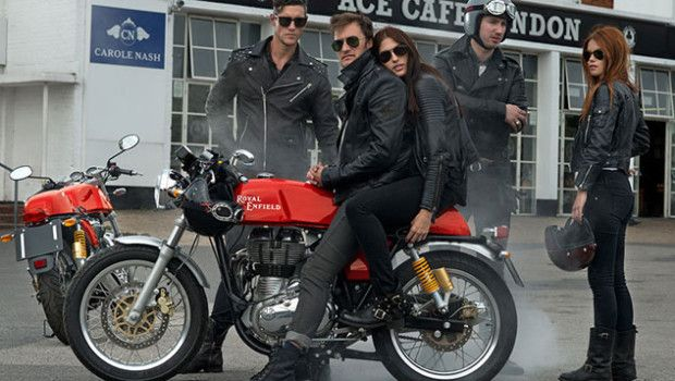 The Royal Enfield Contintental GT Cafe Racer. More info: http://www.pemotoare.ro/?p=6374