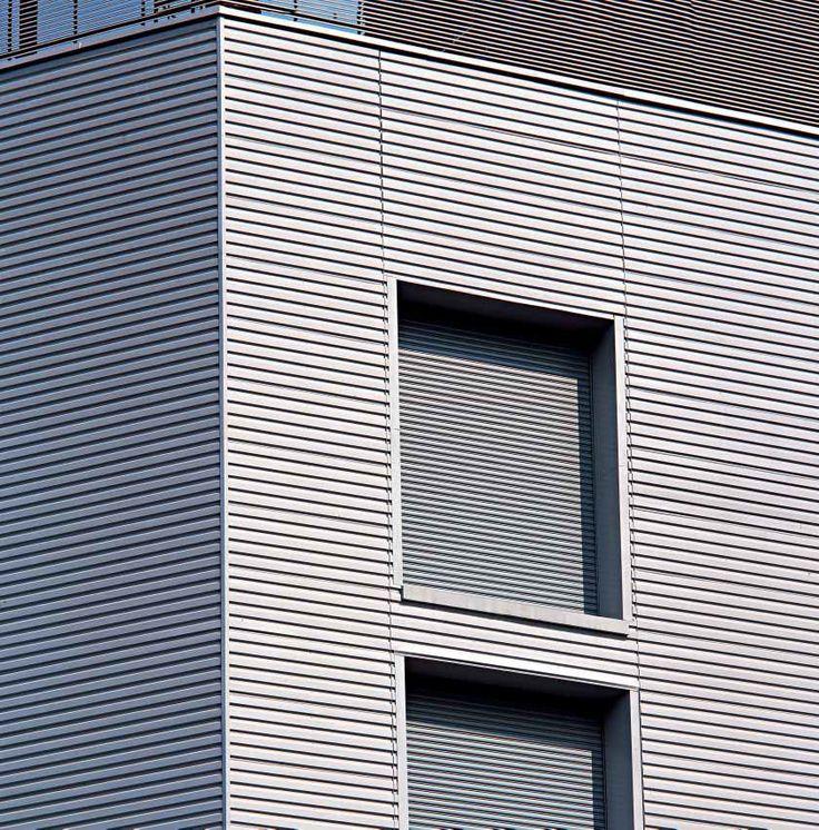 Aluminum cladding profiled panel w tr kalzip