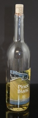 Fake Food White Wine Bottle