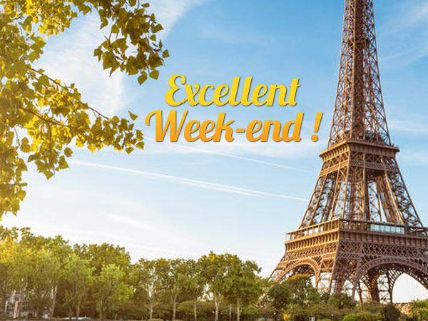un excellent week end sous le soleil parisien