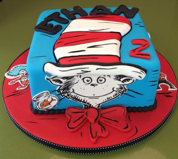 32 Over The Top First Birthday Cakes: 190 Best Images About Dr. Seuss Cakes On Pinterest