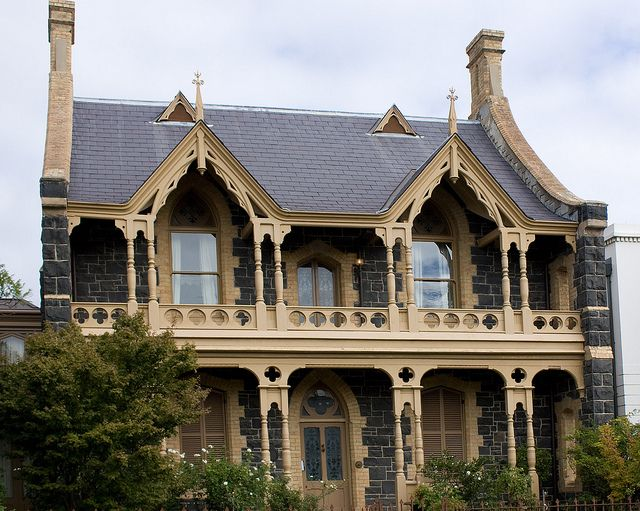 This 1861 Bluestone Home Dubbed The Gothic House Was