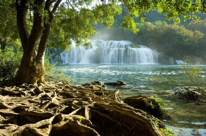 Private Krka Day Trip from Split Explore National Park Krka, one of the most beautiful places in Croatia. It is known for its natural beauty and geological characteristics which made it one of the top tourist destinations in Croatia.Tour starts with pickup at 7:30 am from your apartment or hotel in Split or surrounding area. Before getting to Krka, there will be time to stop for coffee if you choose. The river rises 43km (as the crow flies) from Šibenik, beneath the bes...