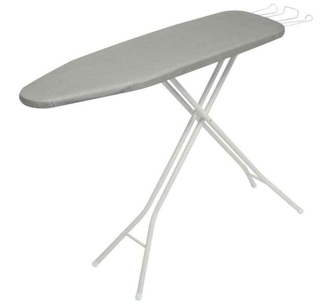 Apartmento Teflon 45x140cm Ironing Board Cover Silver