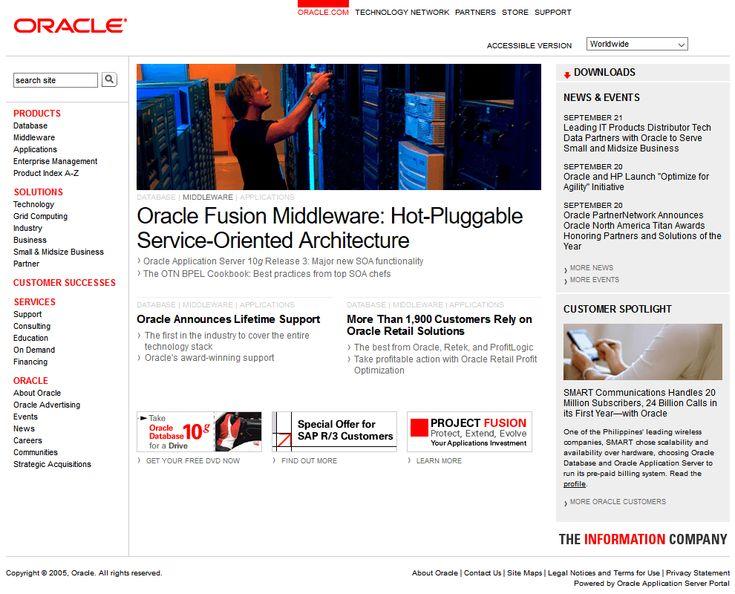 Oracle 2005