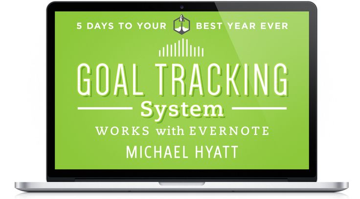 Goal and Project Tracking System with Template from Everenote and Michael Hyatt. Streamlining communications and check lists