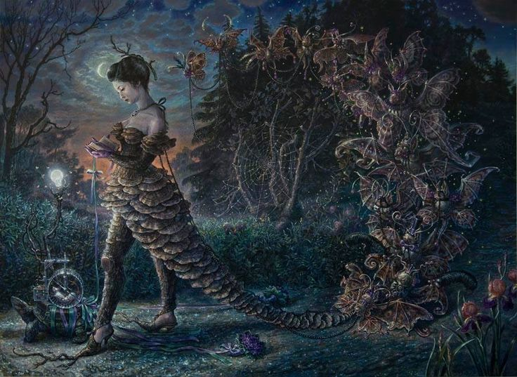 Best Audrey Niffenegger Images On Pinterest Printmaking - Artist creates amazing fantasy dreamscapes into her small studio without using photoshop