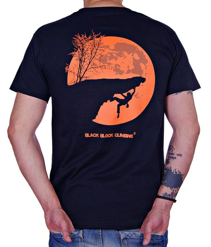Camiseta Night Climber by Black Block Climbing http://www.blackblockclimbing.com/#!camisetas/c1yc2