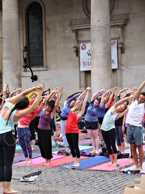 yoga a covent garden - londra