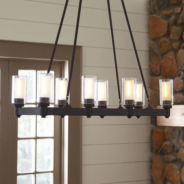 Birch Lane Gramercy 8-Light Rectangular Chandelier - 90 Best Dining Room Lights Images On Pinterest Room Lights