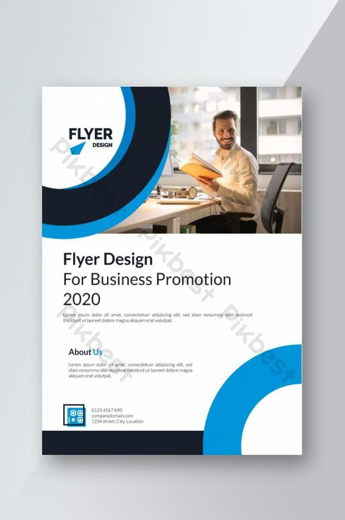 Creative Blue And Black Flyer Design For Corporate Business Ai Free Download Pikbest Flyer Design Corporate Business Flyer