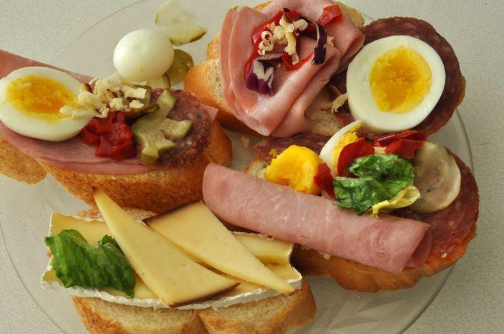 oblozene chlebicky open face sandwiches