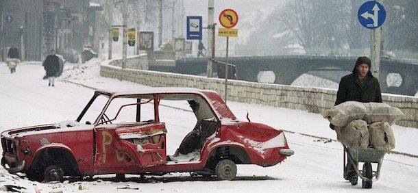 The Siege of Sarajevo, today 20 years ago