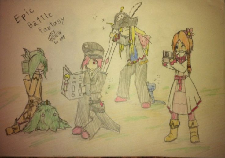 Epic Battle Fantasy 4 ever by Last4Last.deviantart.com on @DeviantArt