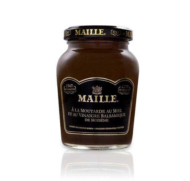 Spécialité à la moutarde au miel et au vinaigre balsamique de ModèneSpécialité à la moutarde au miel et au vinaigre balsamique de Modène