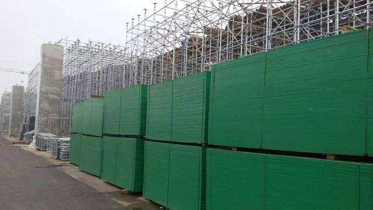 Green PP film faced plywood/marine plywood/shuttering plywood/concrete formwork plywood/phenolic board